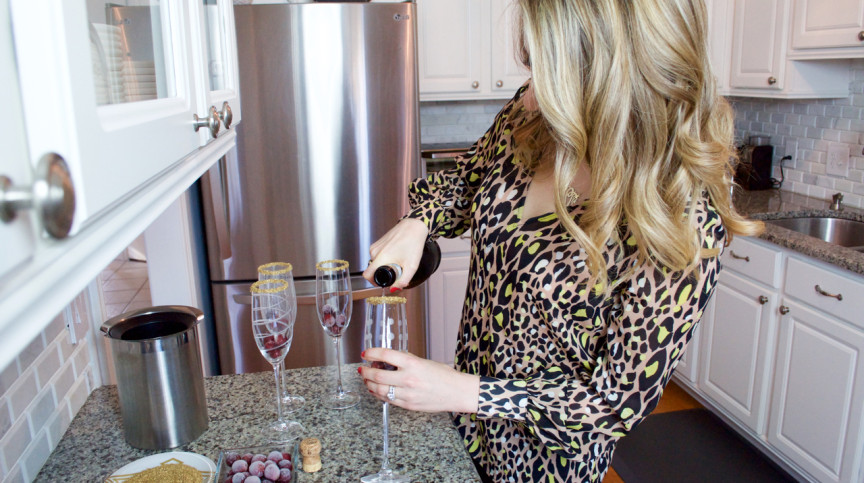 elevate your champagne with these 2 easy tricks