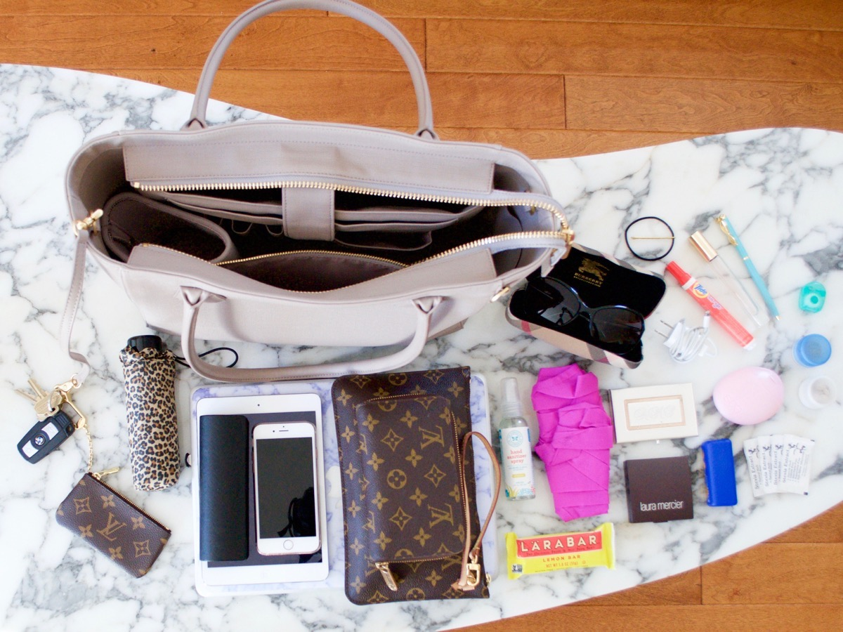 The Dagne Dover Tote fits so much stuff