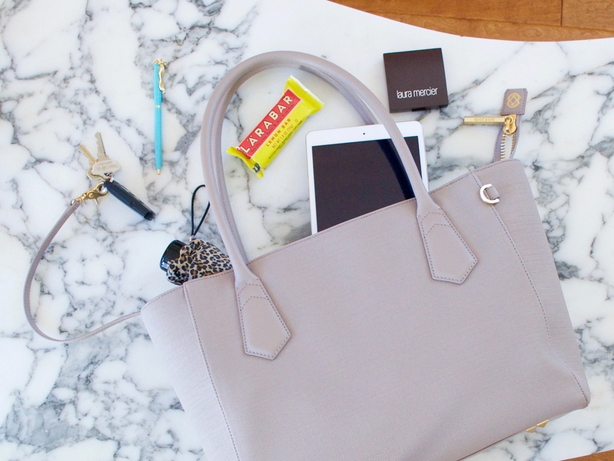 Dagne Dover Tote: the perfect tote to fit all your stuff