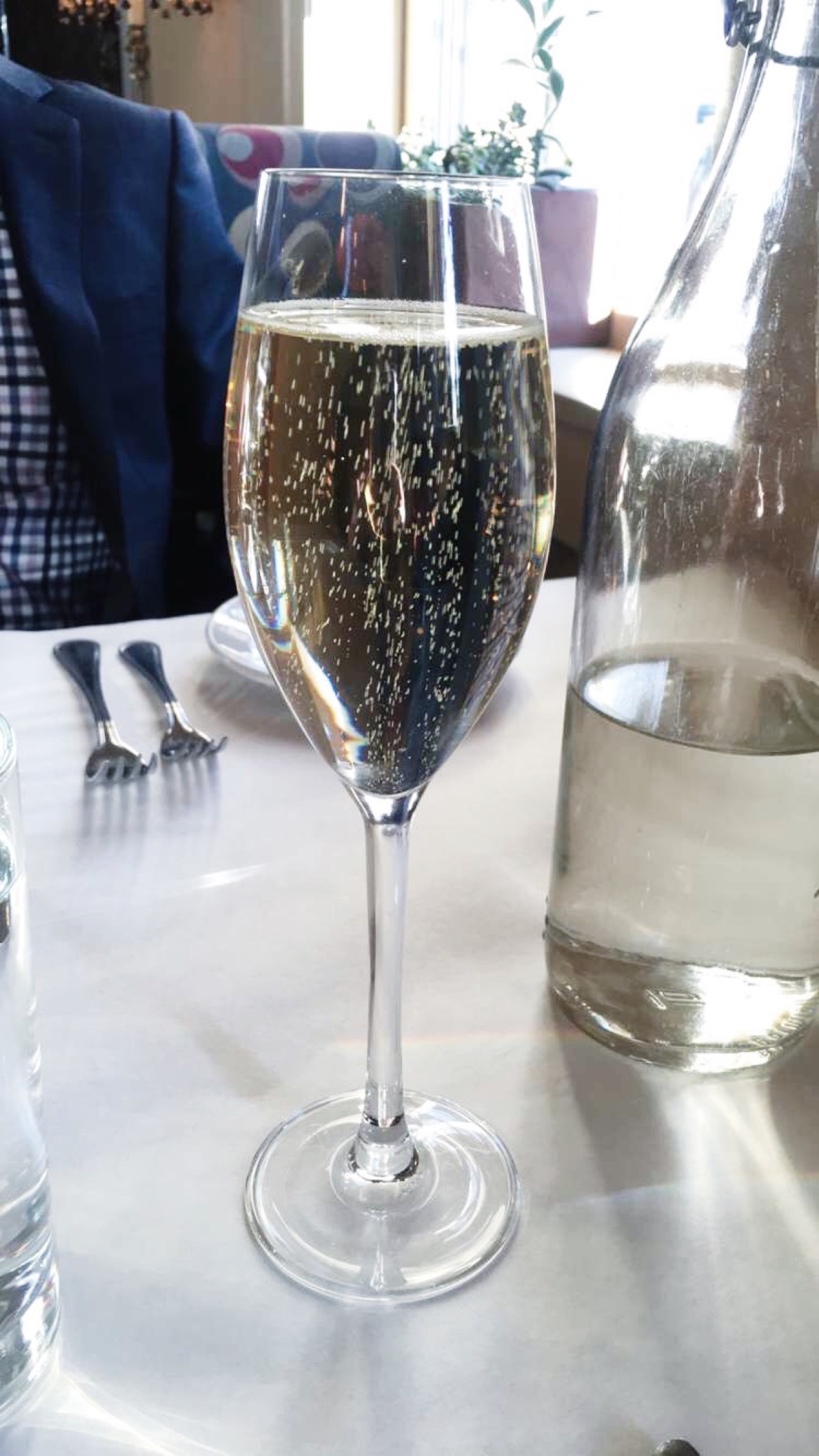 Fit and Fabulous Challenge: you can even enjoy champagne!