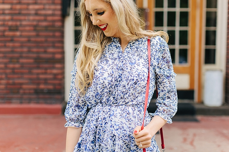 Four ways to look chic for the 4th of july: wear florals!