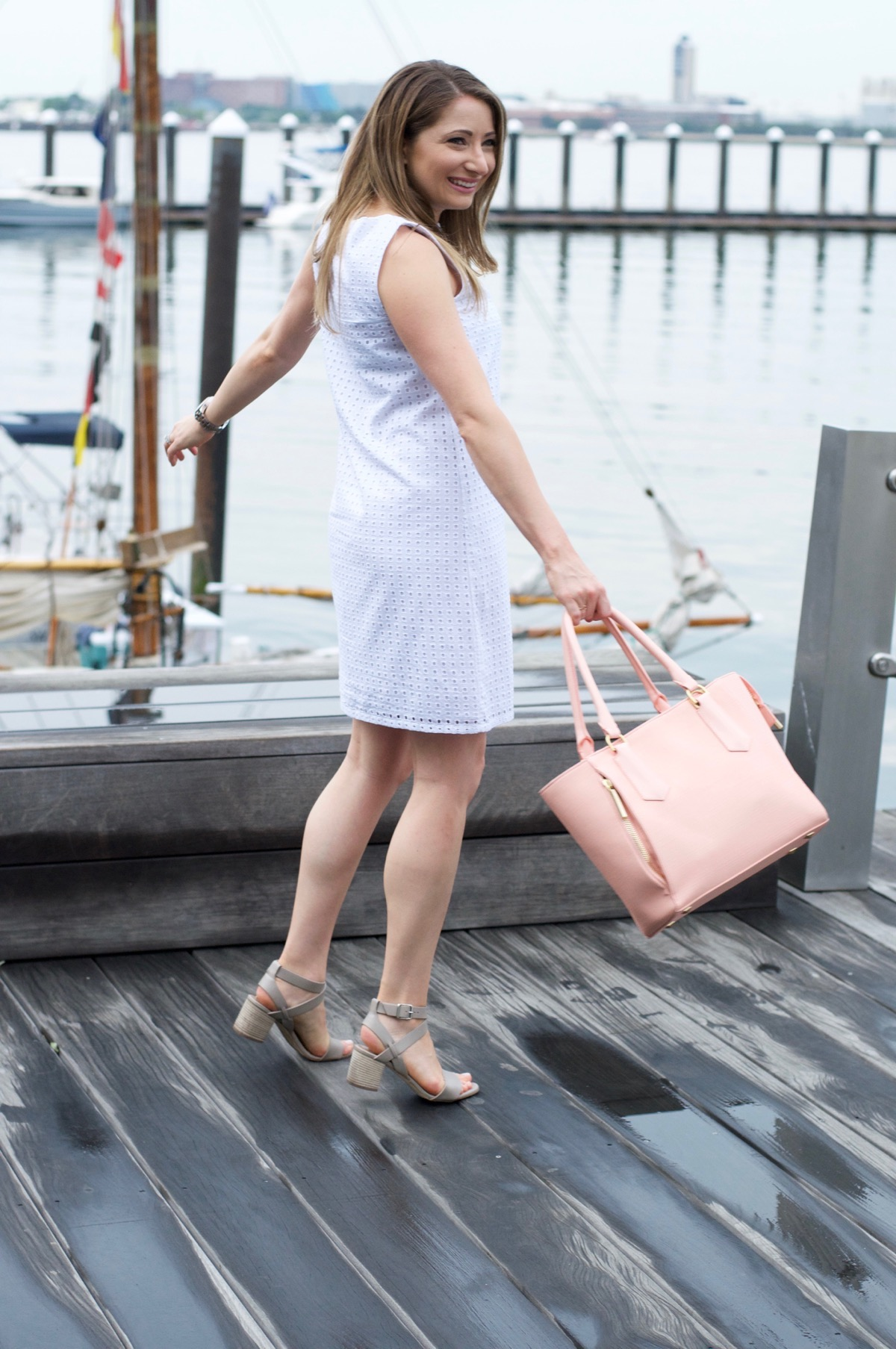 Lilly Shift Dress with Charming Charlie