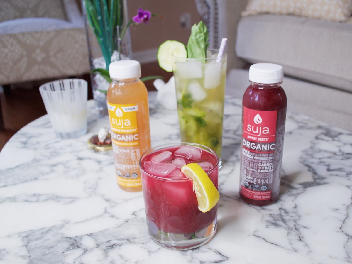 Skip The Hangover With these Suja Cocktails