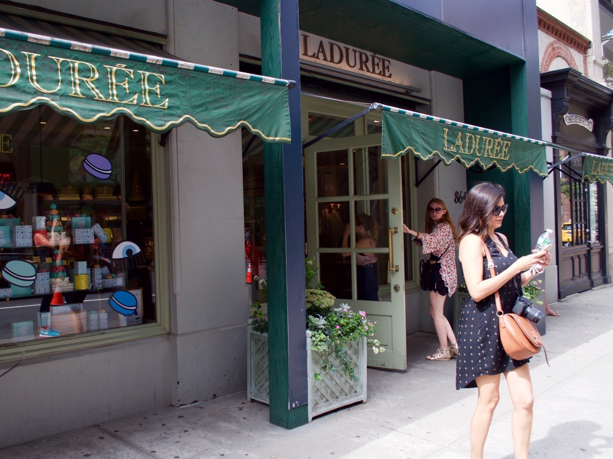 NYFW: Laduree and Macarons