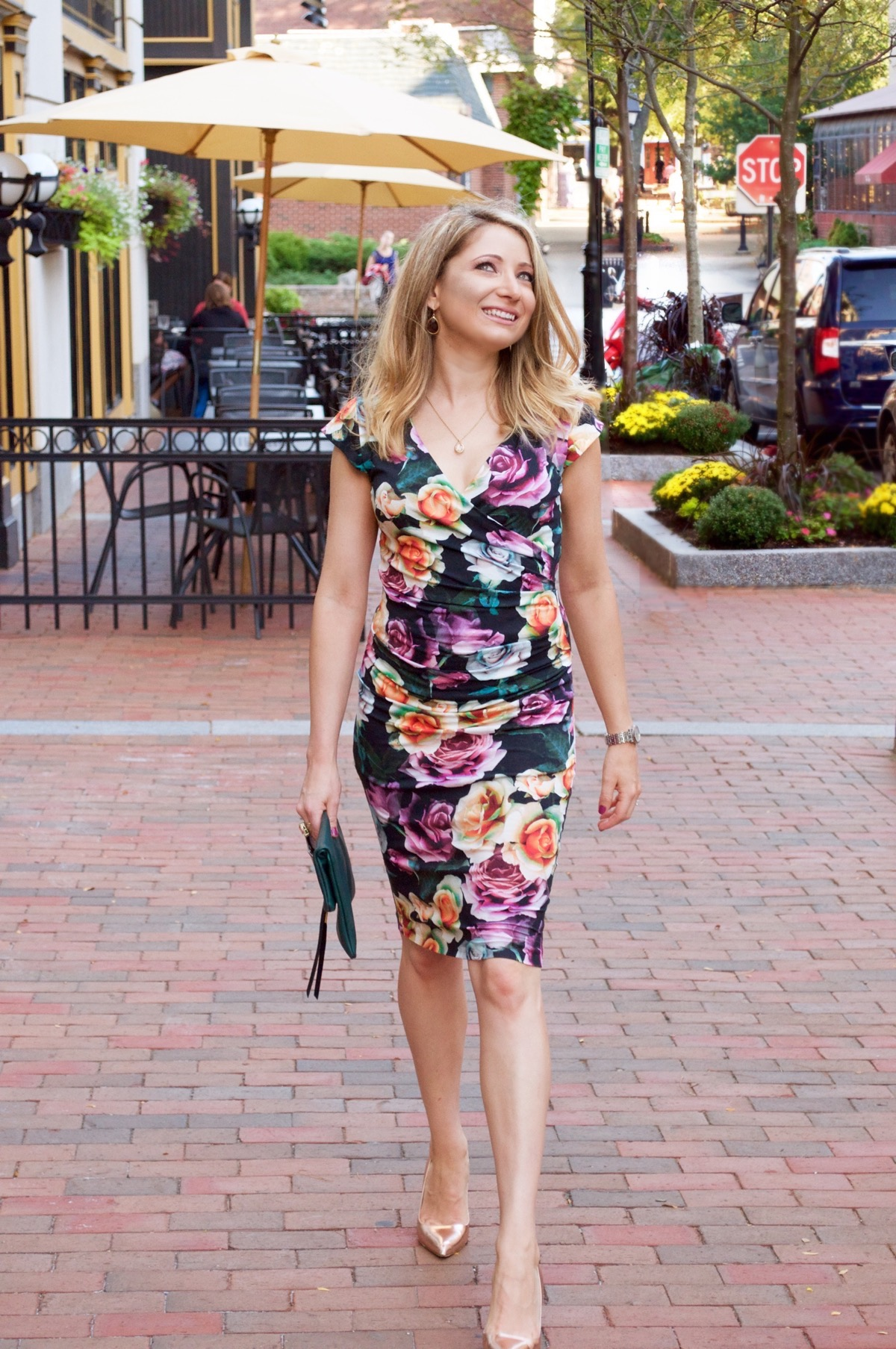 A Casual Take on a Classic Faux-Wrap Dress