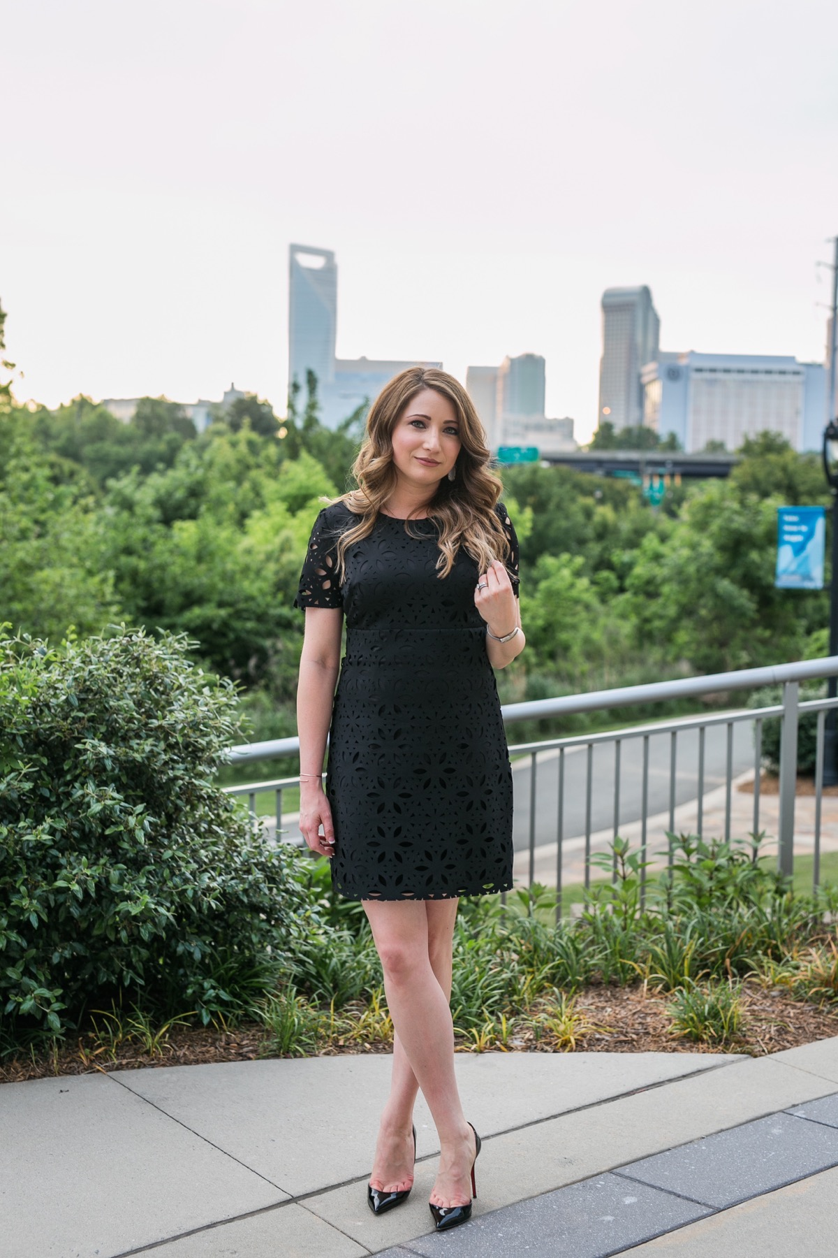 Vivace Charlotte Trina Turk Little Black Dress 1