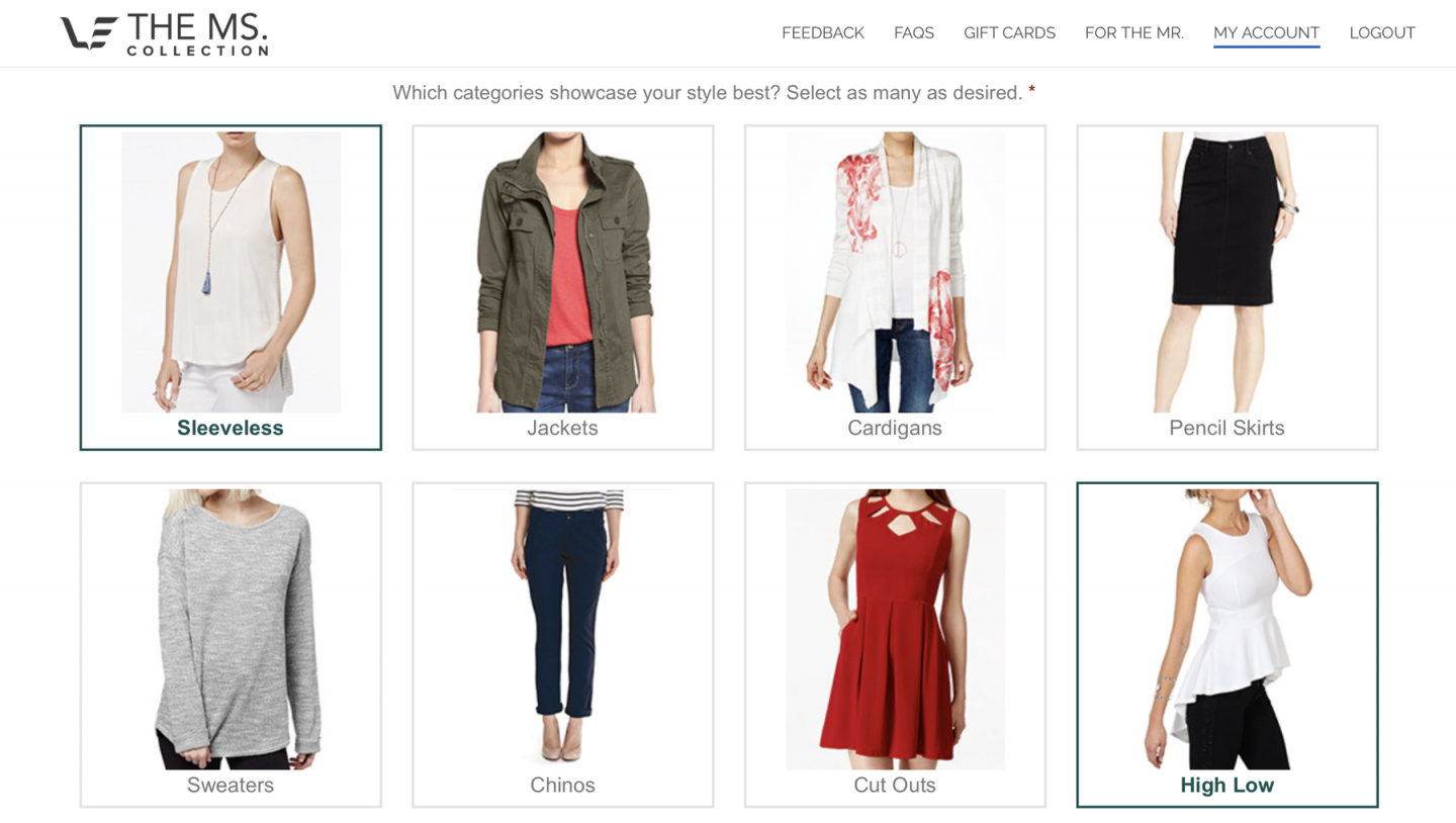 Clothing Rental Ms. Collection Review | Style Quiz