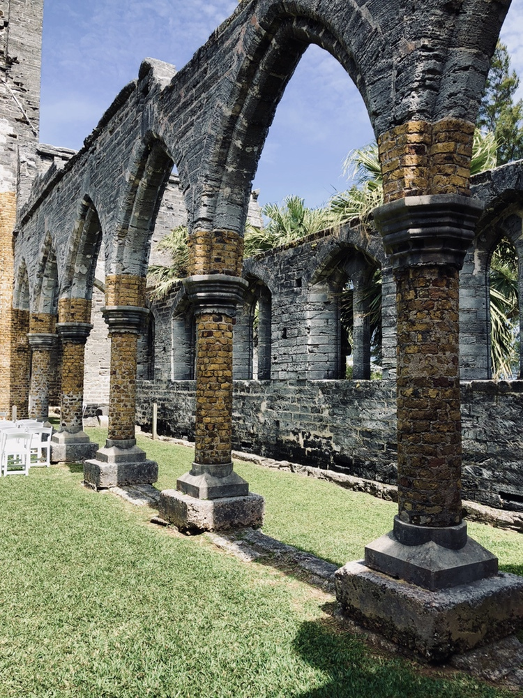 St George Unfinished Church Bermuda