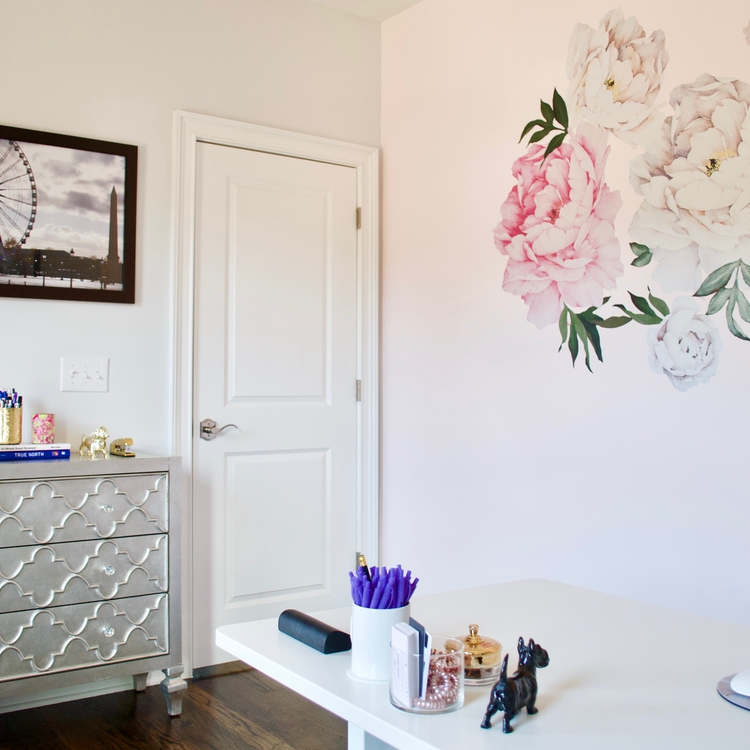 Girly Girlboss Home Office Space1